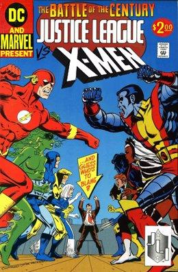 X-Men contra La Liga de la Justicia