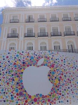 Apple en la Puerta del Sol