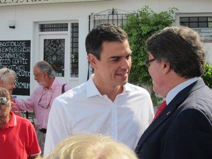 """Sánchez ve """"con humildad"""" el barómetro del CIS y espera """"recuperar posiciones como partido de gobierno de izquierdas"""""""