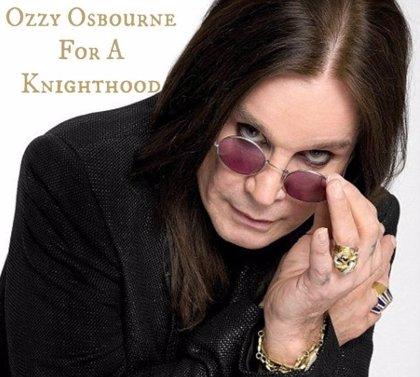 Más de 21.000 personas quieren que Ozzy Osbourne sea nombrado Caballero del Imperio Británico