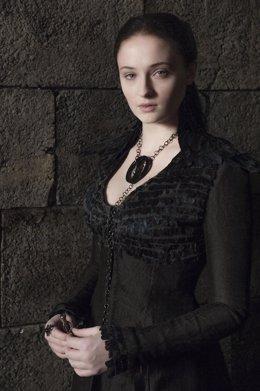 Sophie Turner, Sansa Stark en Juego de Tronos