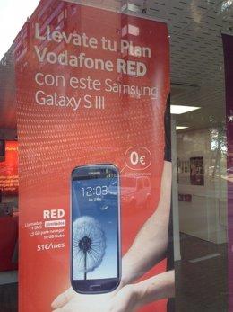 Tienda de telefonía de Vodafone