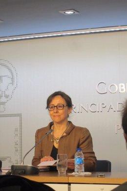 Belén Fernández, viceconsejera de Medio Ambiente Asturias