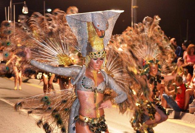Muestra del Carnaval de Verano. Peña Aanmnesis