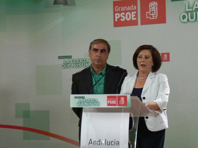 María José Sánchez y José Martínez Olmos