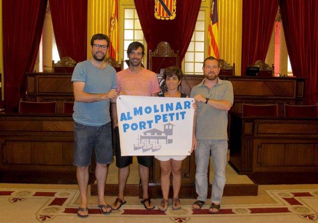 MÉS se reúne con los representantes de 'Al Molinar, Port Petit'