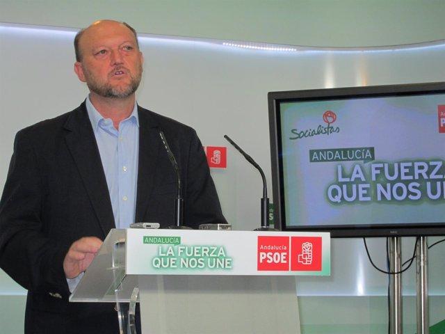 El secretario de Sostenibilidad y Medio Ambiente del PSOE-A, Antonio Pradas