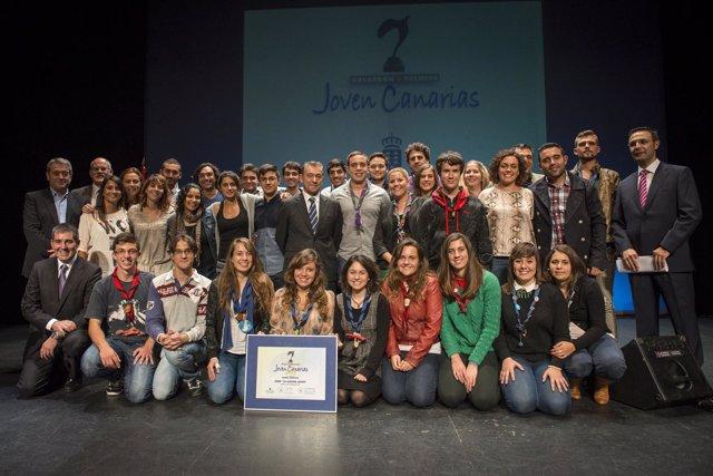 Ultima edición de los Premios Joven Canarias