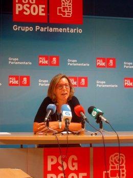 La diputada del PSdeG Carmen Gallego