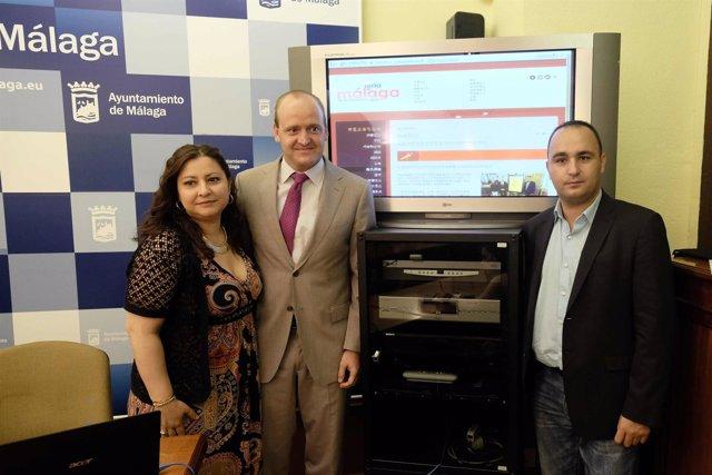 Presentación web Feria Málaga 2014
