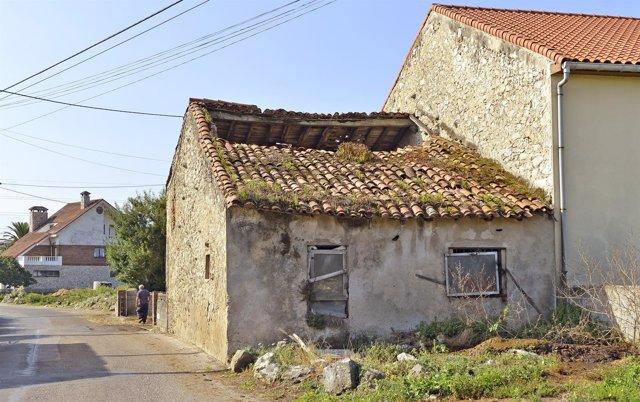 Declarada en ruina una construcción en la calle Corbanera de Monte