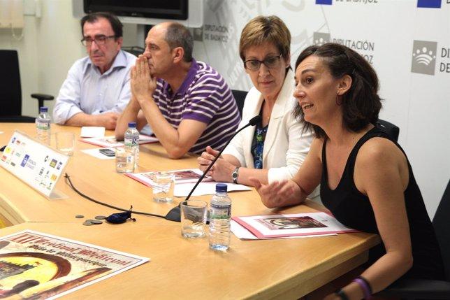 Presentación Festival Medieval de Alburquerque