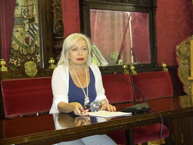 Concejal socialista María Escudero