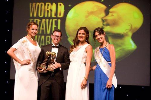 Humberto Moreno en los World Travel Awards