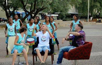 Brasil y Madagascar, unidos por la percusión de las jóvenes del grupo Malagasy