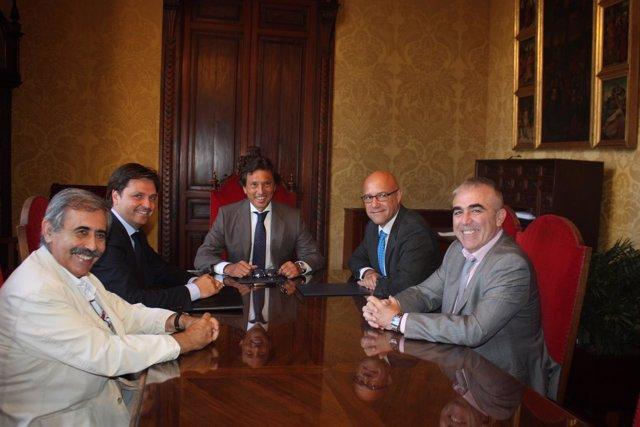 Acuerdo sobre el plan director del puerto de Palma