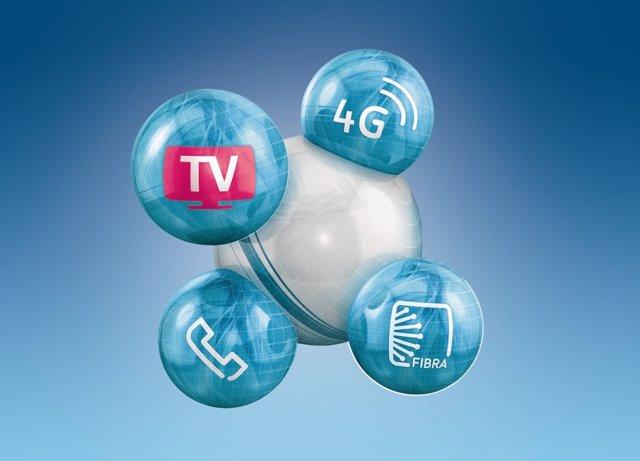 Movistar TV: Todas las claves de la nueva tele multipantalla fusión 4G fibra