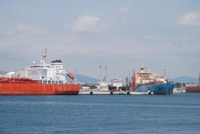 Moll de la Química del Puerto de Tarragona