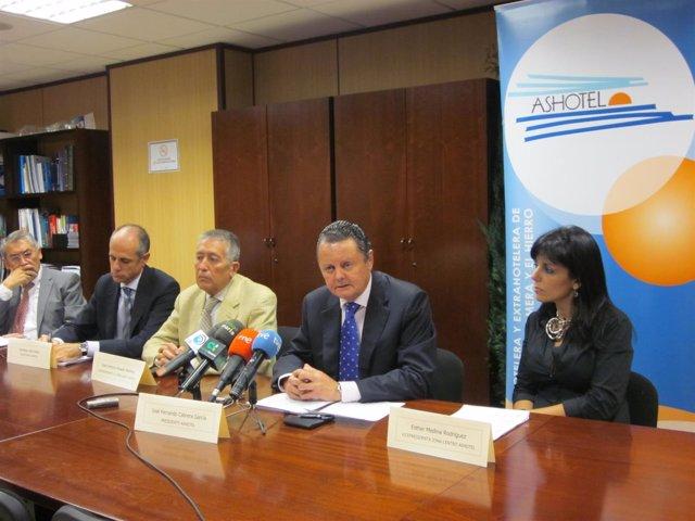 El presidente de la Asociación Hotelera y Extrahotelera de Tenerife, La Palma, L