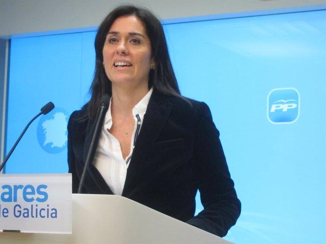 La portavoz del PPdeG, Paula Prado
