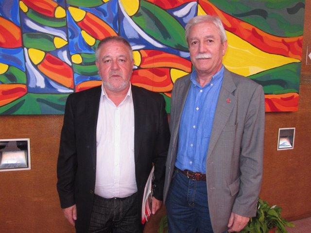 Antonio Pino (izquierda) y Justo Braga.