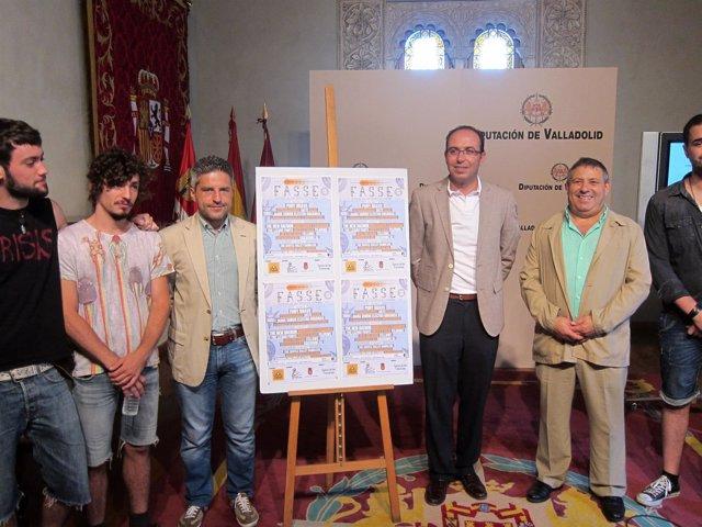 Los diputados Del Valle y Alonso en la presentación del Fasse de Serrada