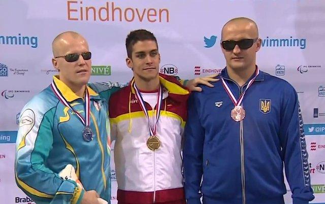 El tinerfeño Israel Oliver, oro Europeo Natación