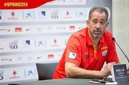 El seleccionador español de baloncesto, Juan Antonio Orenga