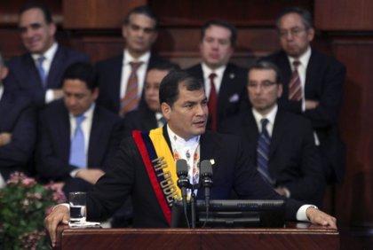 Correa afirma que no expulsará de Ecuador al embajador israelí por la ofensiva militar contra Gaza