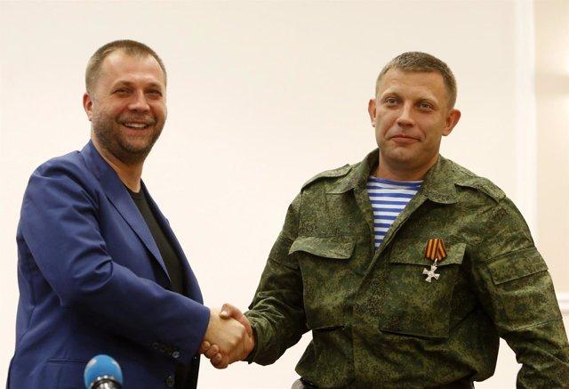 El líder de la autoproclamada República Popular de Donetsk, Alexander Borodai