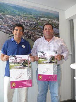 El alcalde y el concejal de Festejos presentan las fiestas de Muslera