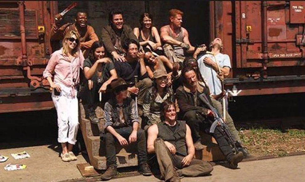 Set de la quinta temporada de The Walking Dead