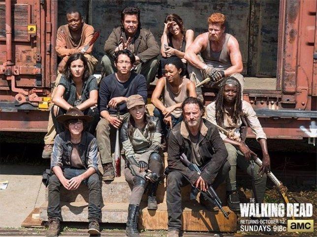 Foto del set de The Walking Dead sin... Daryl