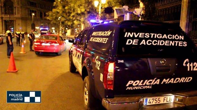 Control de la Policía municipal