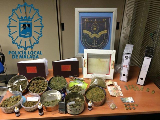 Estupefacientes droga cannabis asociacion a favor del consumo desarticulada