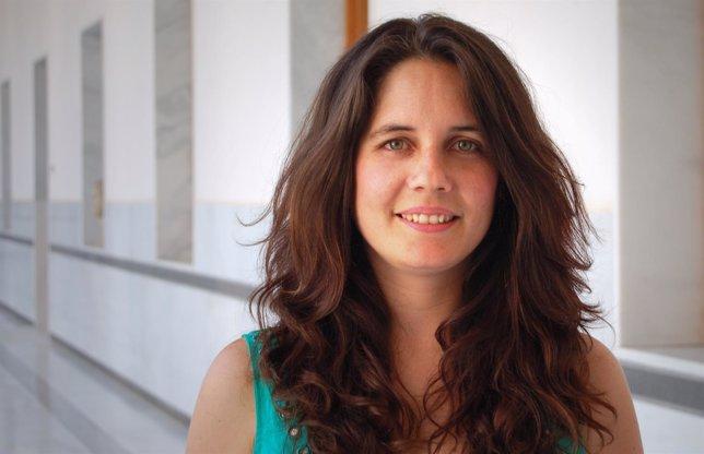 La portavoz de Educación de IULV-CA en el Parlamento andaluz, Marina Segura