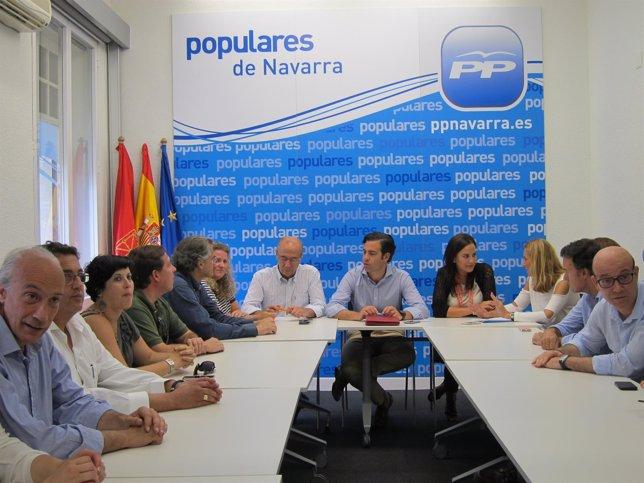 Reunión de la comisión gestora del PPN.