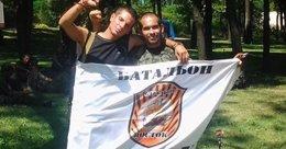 Rafa y Ángel militantes españoles en las brigadas internacionales contra Ucrania