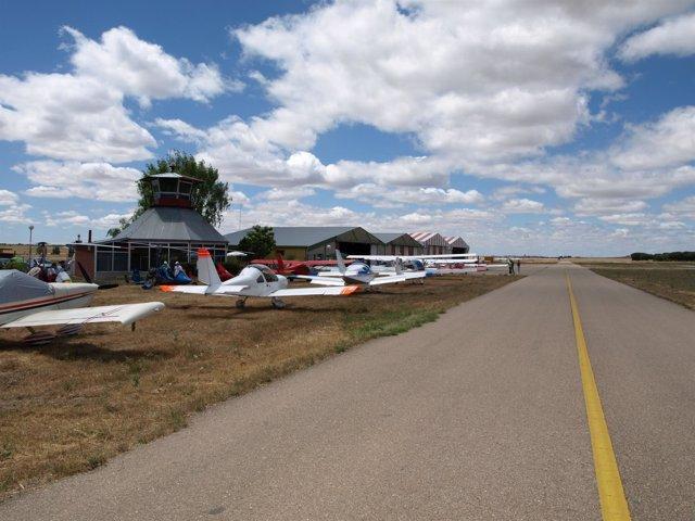 El aeródromo de Matilla de los Caños
