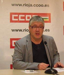 Koldo González, Secretario General De CCOO De La Rioja