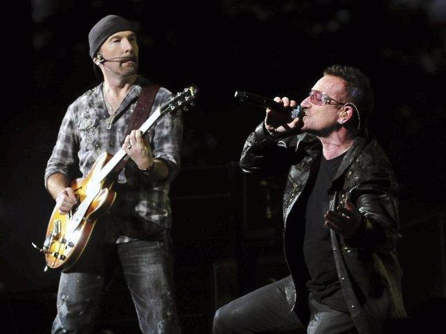 The Edge y Bono, de U2