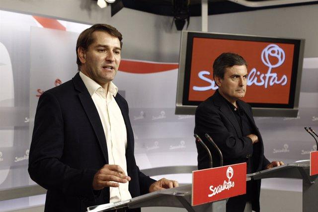 Manuel de la Rocha y Pedro Saura