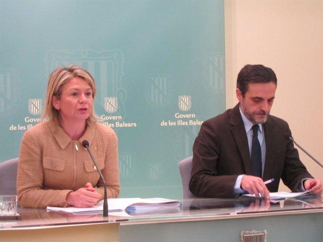 Núria Riera y José Vicente Marí