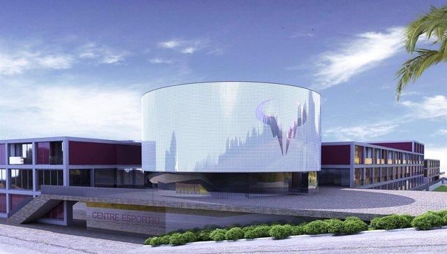 Diseño del Centro Internacional de Tenis Rafael Nadal