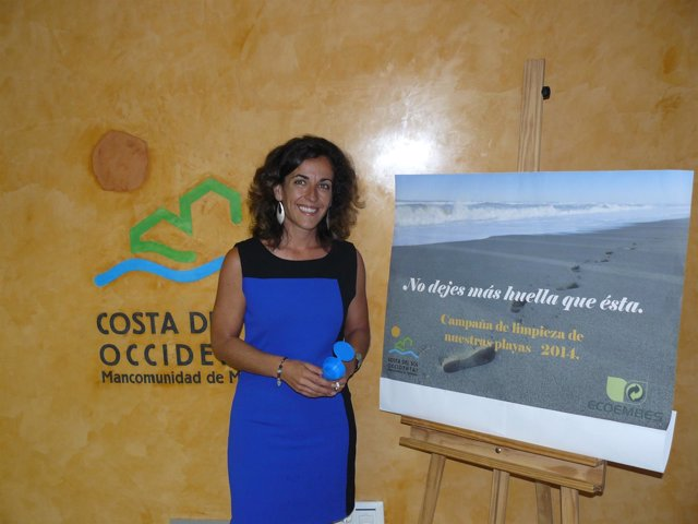 Carmen Márquez, Campaña, colillas, playas