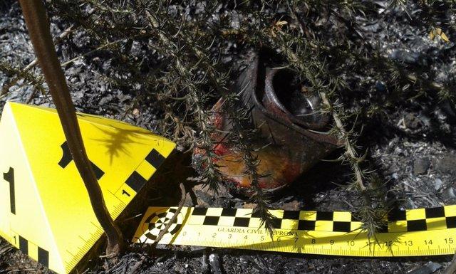 GUARDIA CIVIL A CORUÑA: Nota De Prensa Hallazgo Artefacto Incendiario.
