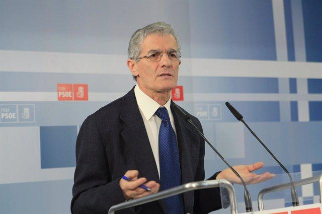 El portavoz de Sanidad del PSM, José Manuel Freire