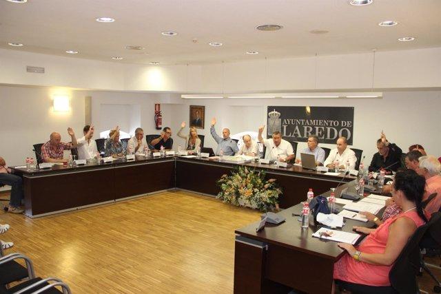 Pleno del Ayuntamiento de Laredo