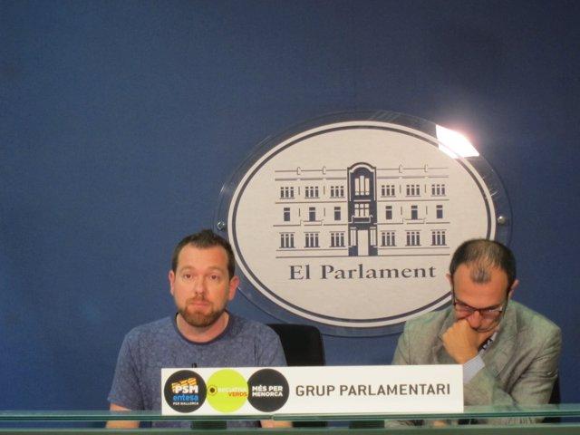 David Abril y Biel Barceló de MÉS
