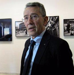 El portavoz del PSPV en las Corts, Antonio Torres.